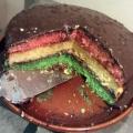 Recipe: Tri Color Cake