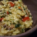 Recipe: Creamy Orzo with Roasted Vegetables