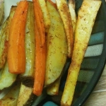 Recipe: Duck Fat Carrot, Potato and Parsnip Fries