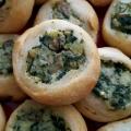 Recipe: Potato and Spinach Knish