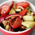 Recipe: Cucumber Tomato Salad