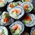 Recipe: Cucumber Carrot Sushi Rolls