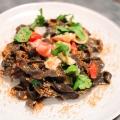 Recipe: Squid Ink Pasta with Crab Meat