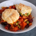 Recipe: Vegetable and Biscuit Bake