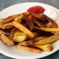 Recipe: Easy Baked French Fries