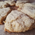 Recipe: Goat Cheese, Pear, and Black Pepper Scones