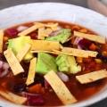 Recipe: Black Bean Tortilla Soup
