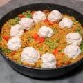 Recipe: Fish Ball Paella