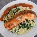 Recipe: Salmon in Tomato Coconut Cream Sauce